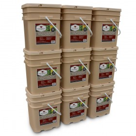 Wise 1080 Serving Freeze Dried Vegetable and Gourmet Flavored Sauces