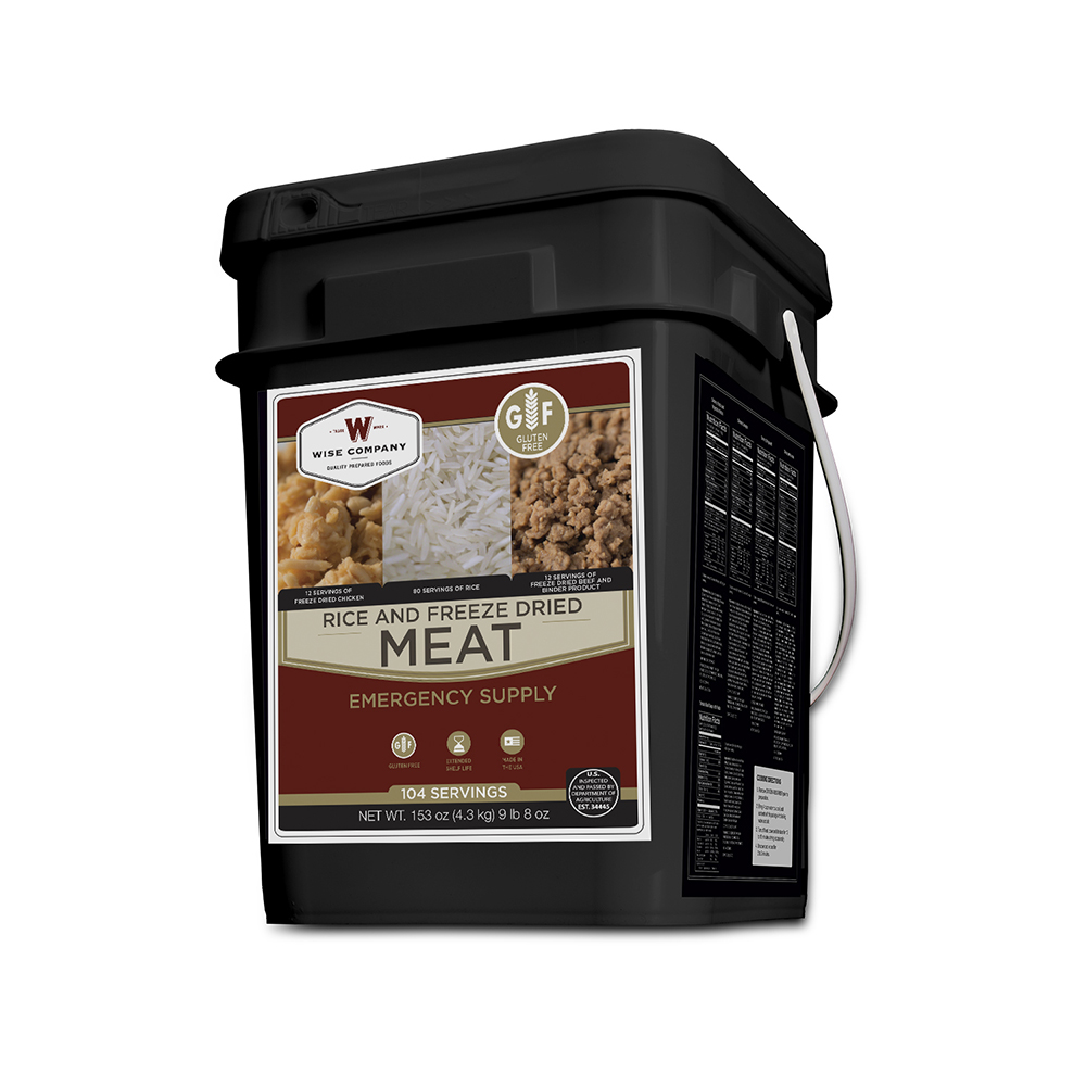 Wise Freeze Dried Meat Bucket