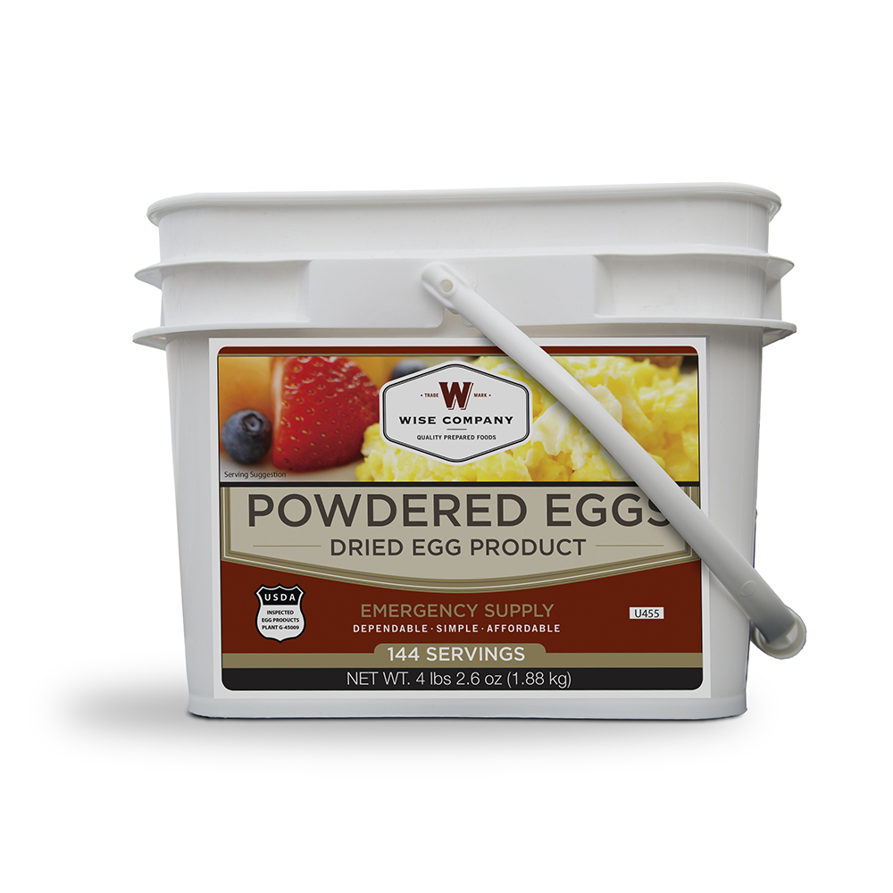 Wise 144 Servings of  Powdered Eggs