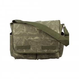 Rothco Stone Washed Canvas Classic Messenger Bag