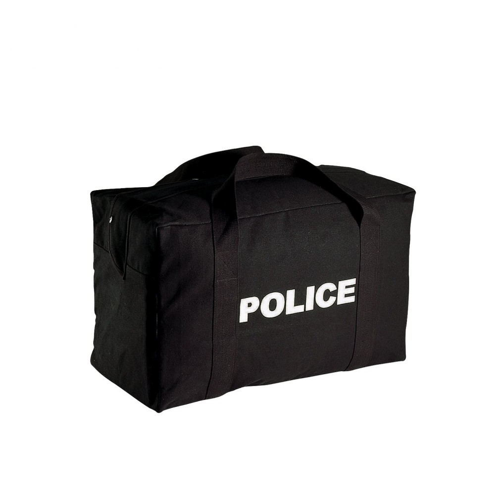 Rothco Canvas Large Police Logo Gear Bag