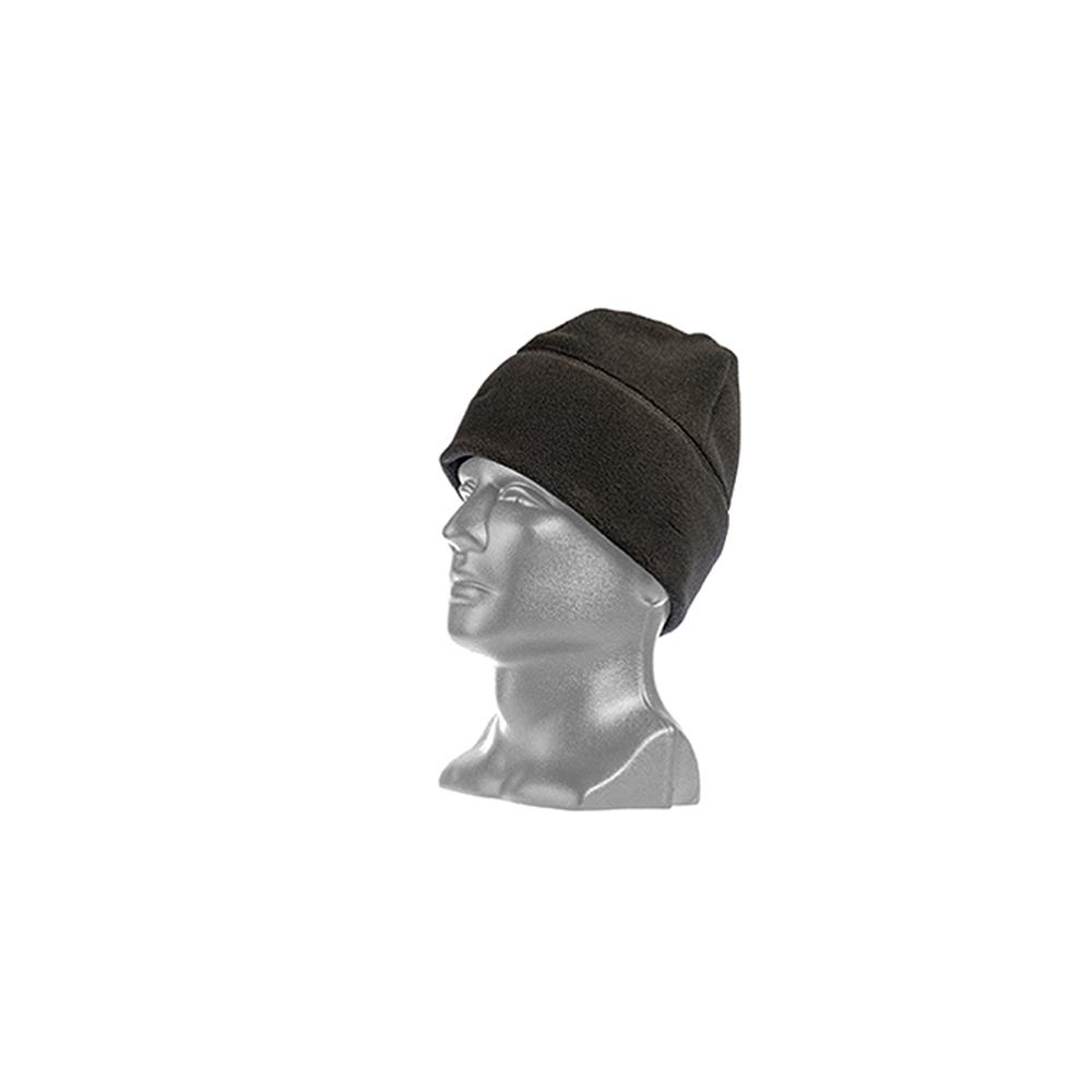 Tac Shield Military Fleece Cap - Black