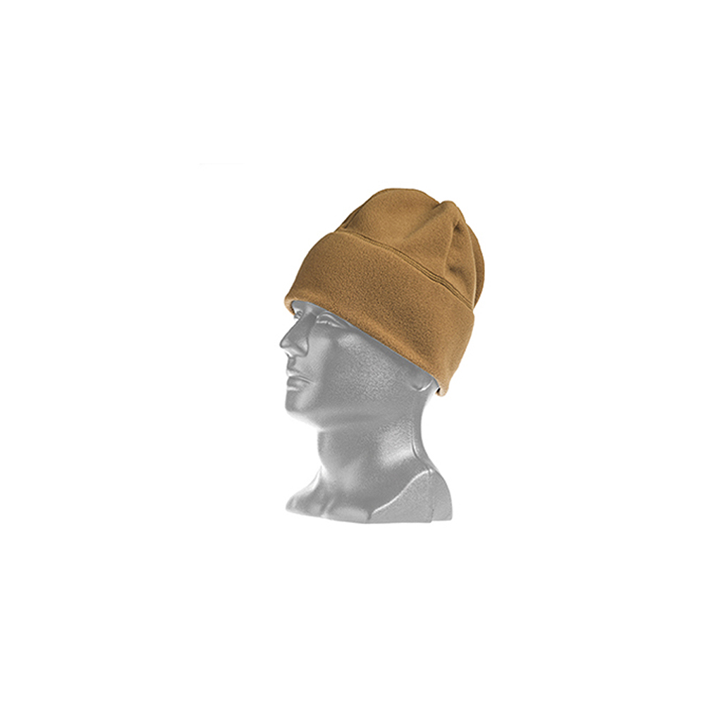 Tac Shield Military Fleece Cap - Coyote