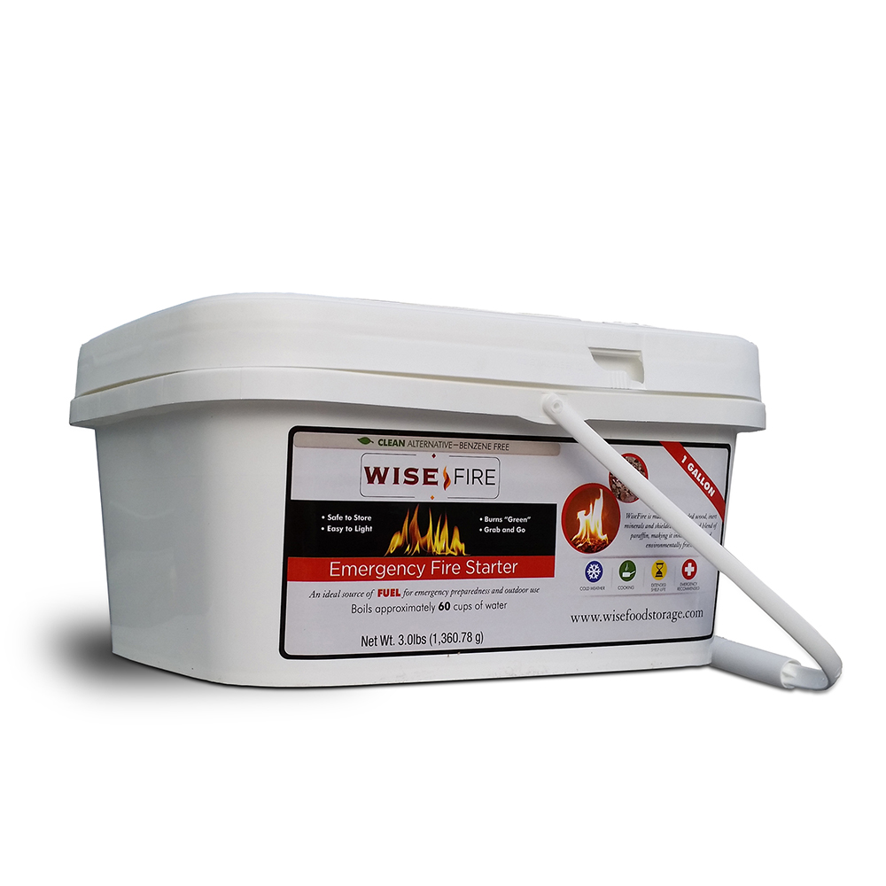 Wise Fire 1 Gallon 60 Cup Fuel Source
