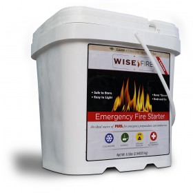 Wise Fire 2 Gallon 120 Cup Fuel Source