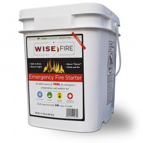 Wise Fire 4 Gallon 240 Cup Fuel Source