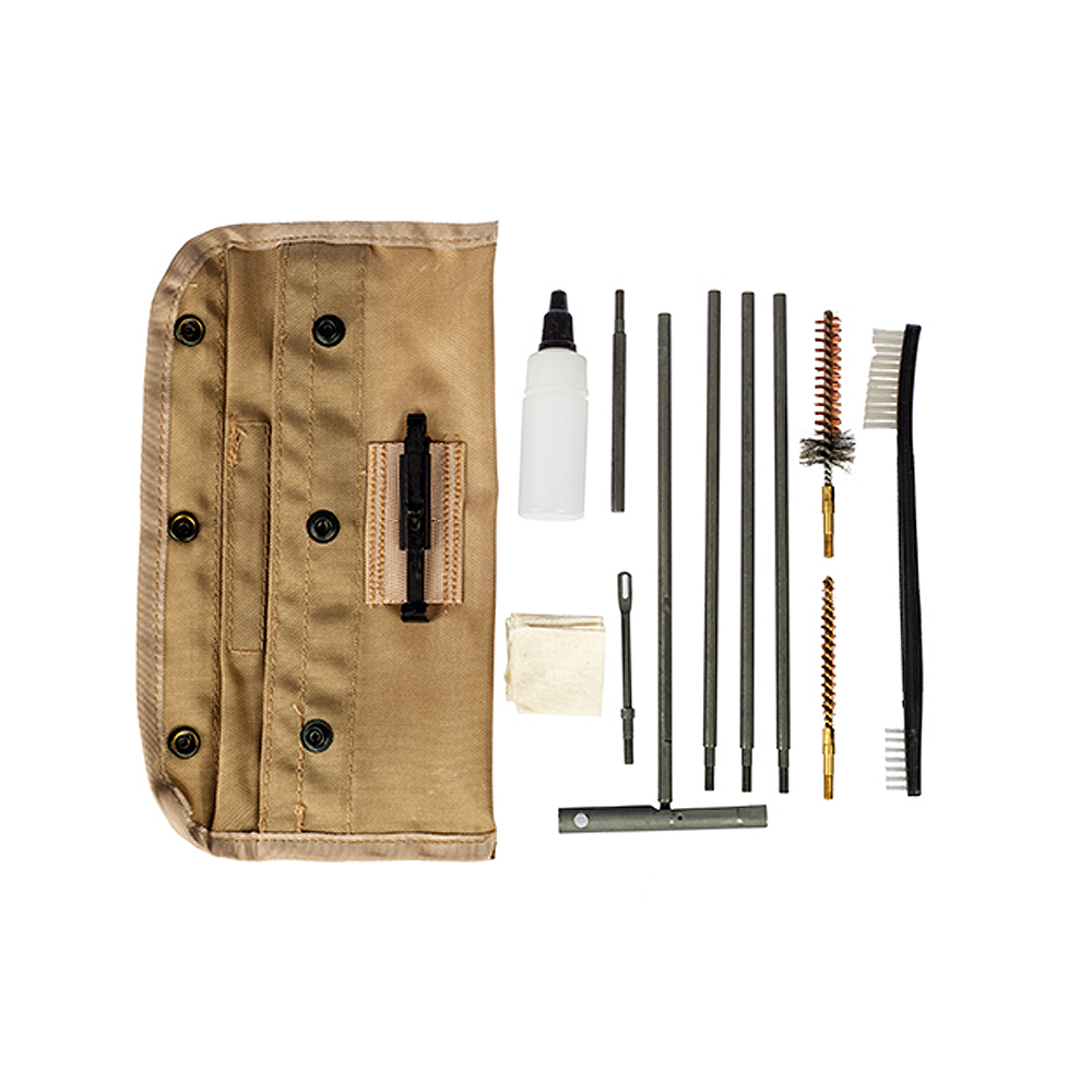 Tac Shield AR15/M16 USGI Field Cleaning Kit - Tan