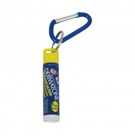 Dermatone Lip Balm with Key Carabiner - 0.15 oz