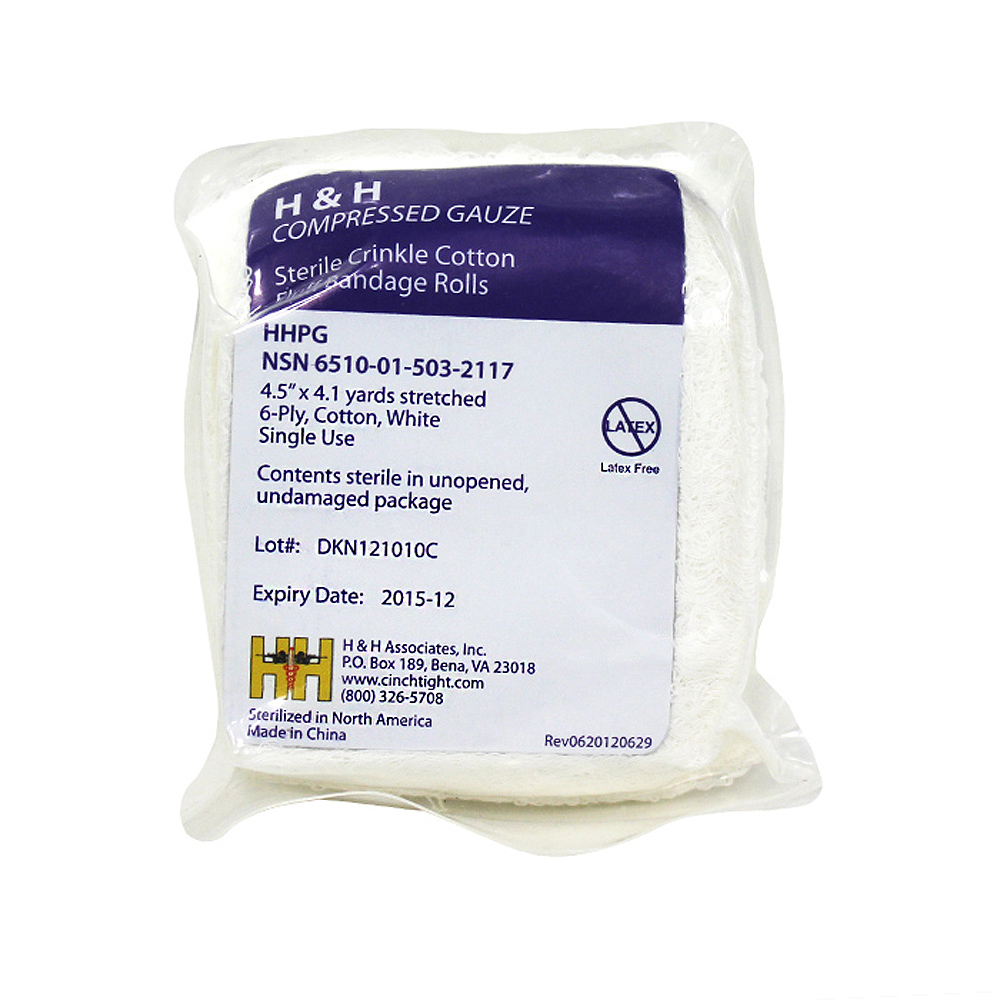 H&H Compressed Gauze