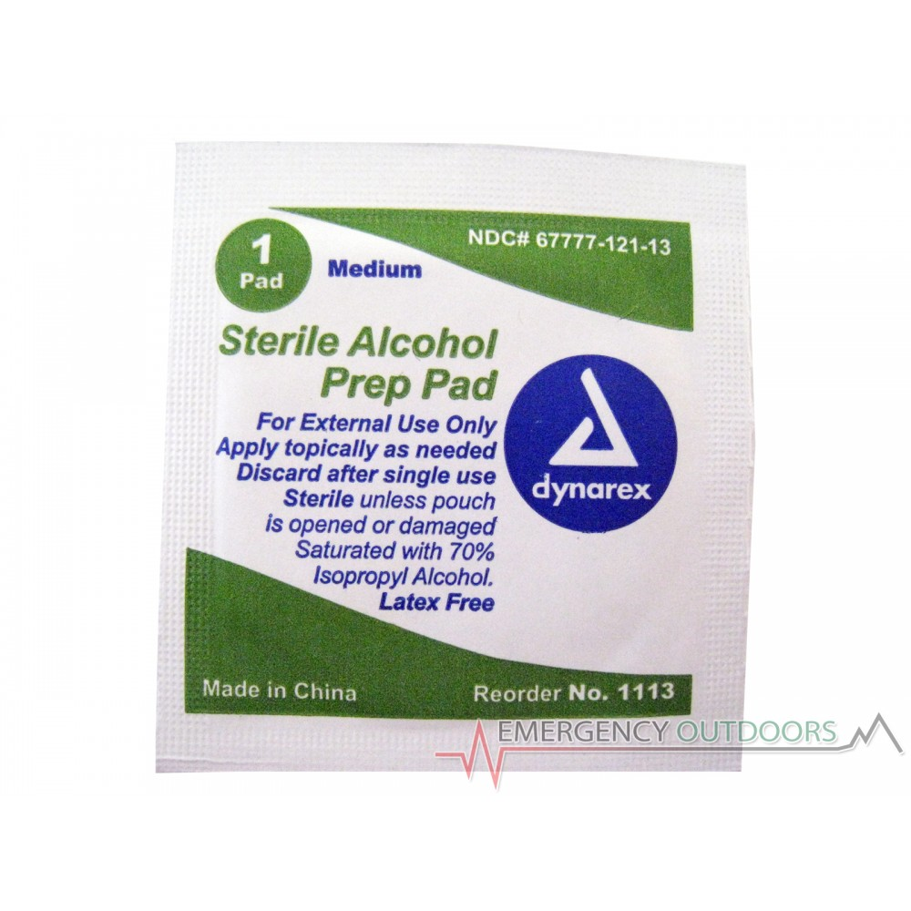 Sterile Alcohol Prep Pad - Single Pack