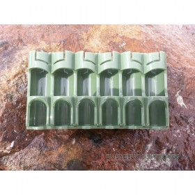 PowerPax 12 AA Battery Caddy Carrier - Military Green