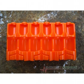 PowerPax 12 AA Battery Caddy Carrier - Orange