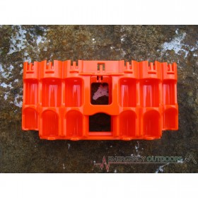 PowerPax A9 Ultimate Preparedness Battery Caddy - Orange
