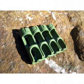 PowerPax SlimLine AA Battery Caddy Carrier - Military Green