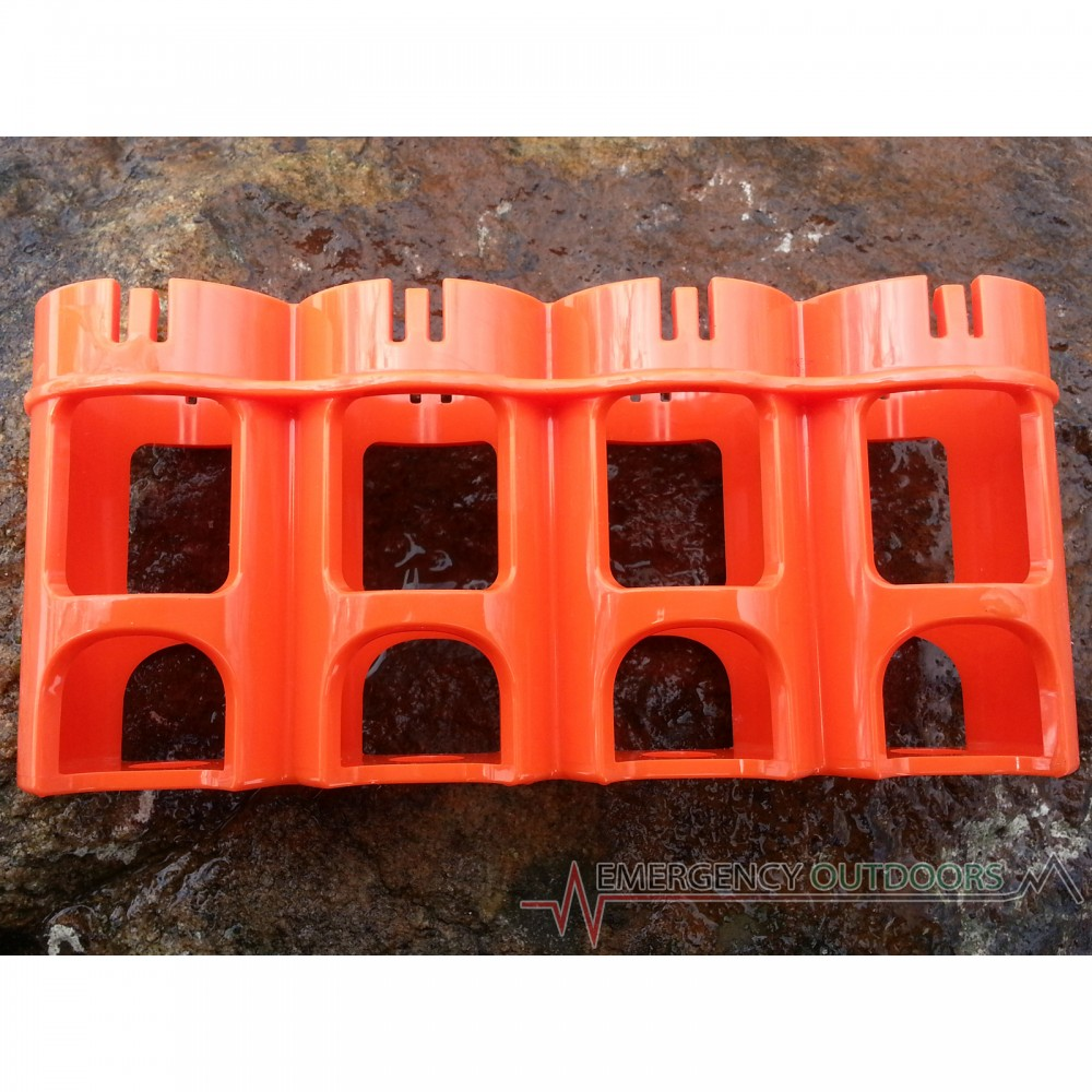 PowerPax SlimLine C4 Battery Caddy Carrier - Orange