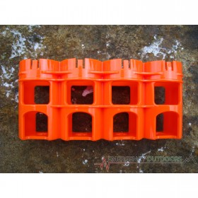 PowerPax SlimLine D4 Battery Caddy Carrier - Orange