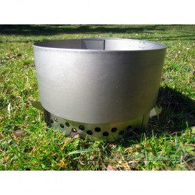 Clikstand Appalachian Titanium Combo - Titanium Stove