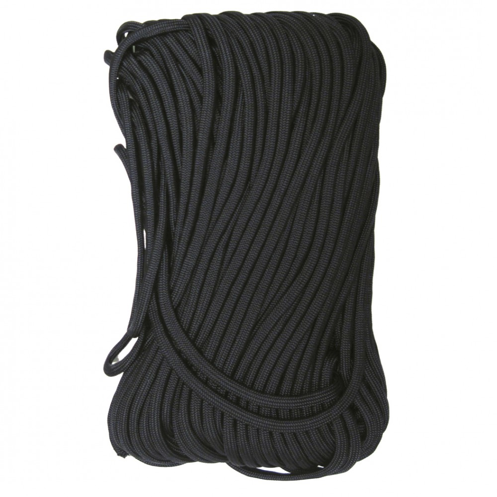 Tac Shield Tactical 550 Paracord 100ft - Black