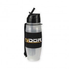 NDuR - 28oz Flip Top Water Filtration Bottle - Clear