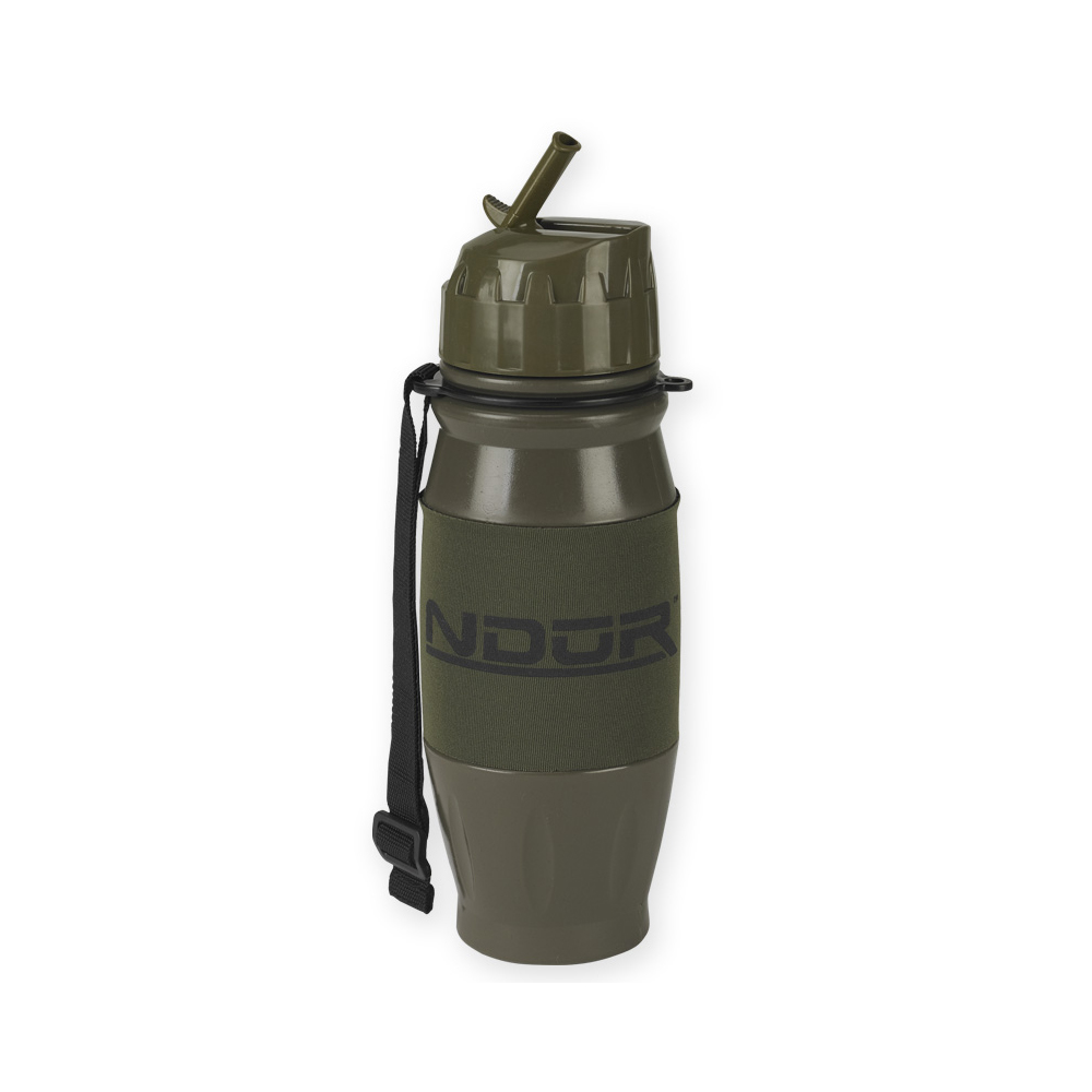 NDuR - 28oz Flip Top Water Filtration Bottle - Olive