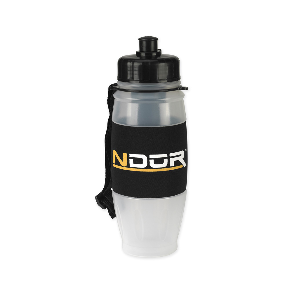 NDuR - 28oz Pull Top Water Filtration Bottle - Clear