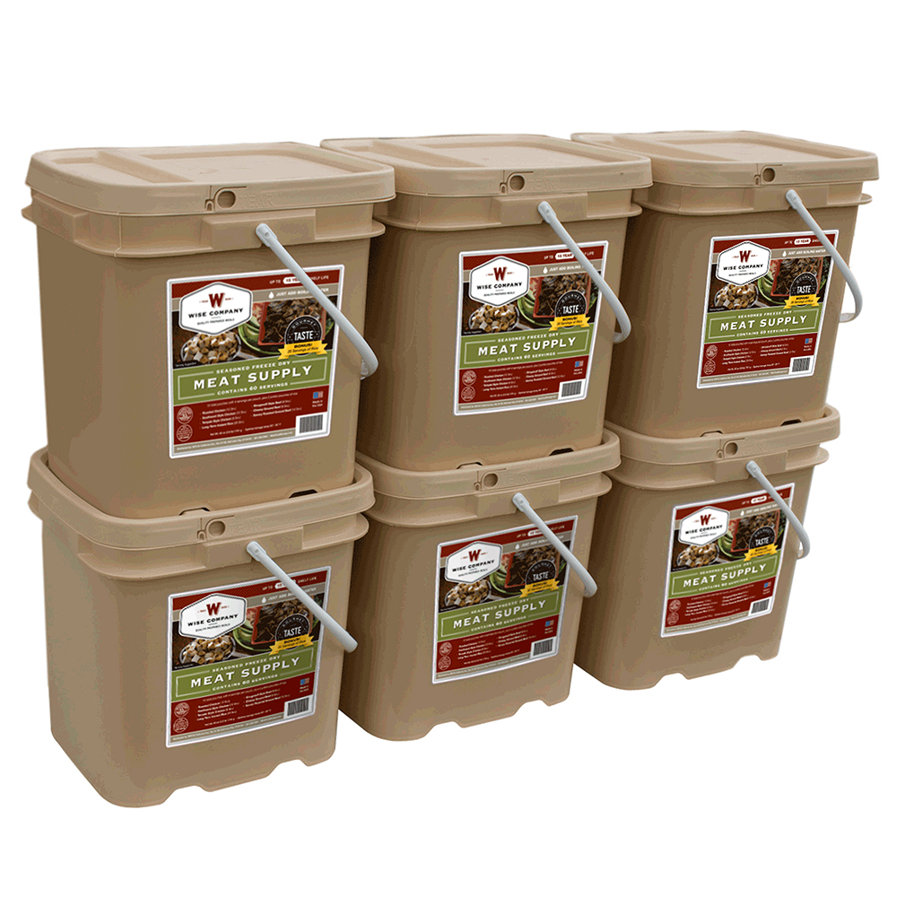 Wise 360 Freeze Dried Gourmet Meat