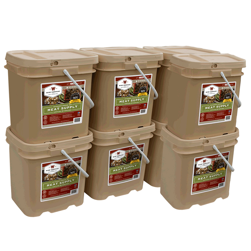 Wise 480 Serving Freeze Dried Gourmet Meat