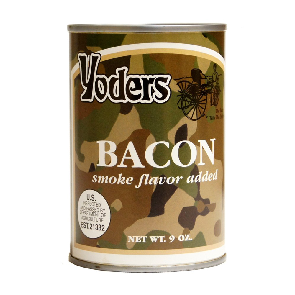 Yoders Canned Bacon - 9 oz