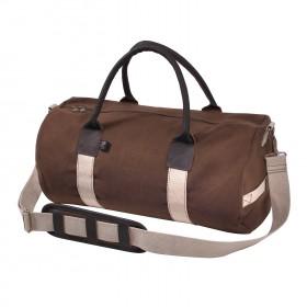 """Rothco 19"""" Canvas & Leather Gym Bag"""