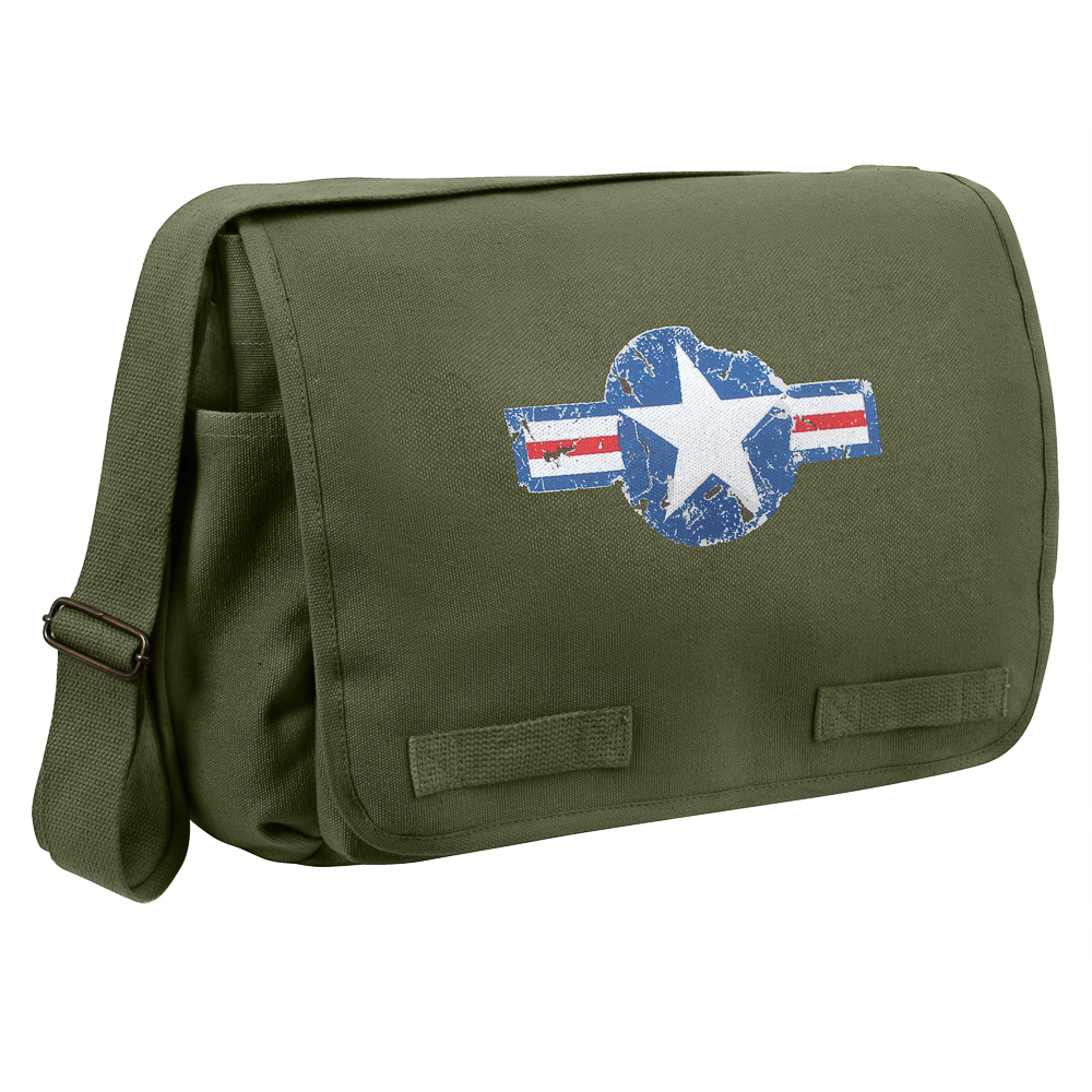 Rothco Air Corps Heavyweight Classic Messenger Bag
