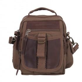 Rothco Canvas & Leather Travel Shoulder Bag