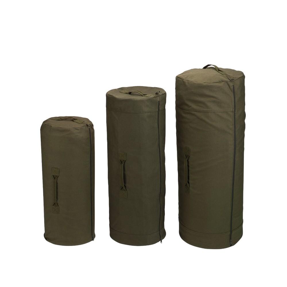 Rothco Canvas Duffle Bag w/ Side Zipper