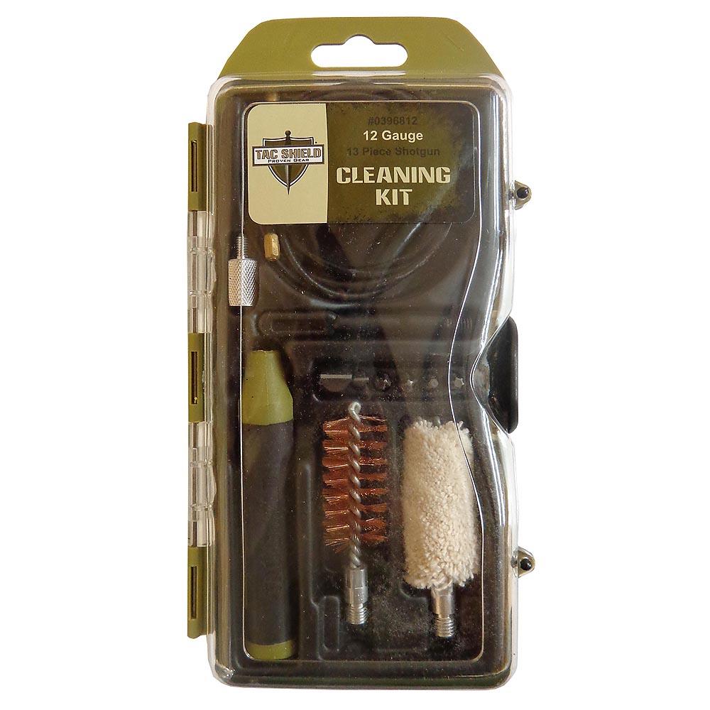 Tac Shield 12 Gauge 13 Piece Shotgun Cleaning Kit