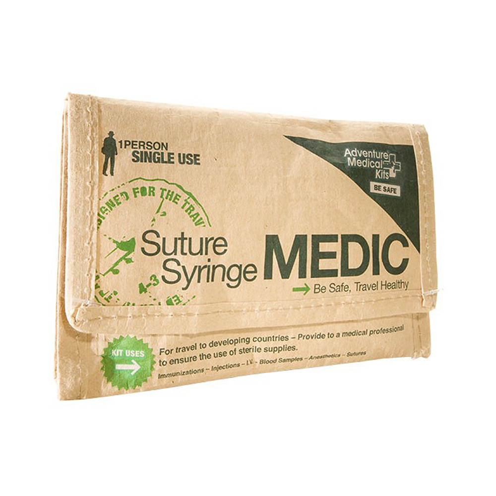 Adventure Medical Kits Travel Series Suture/Syringe Medic