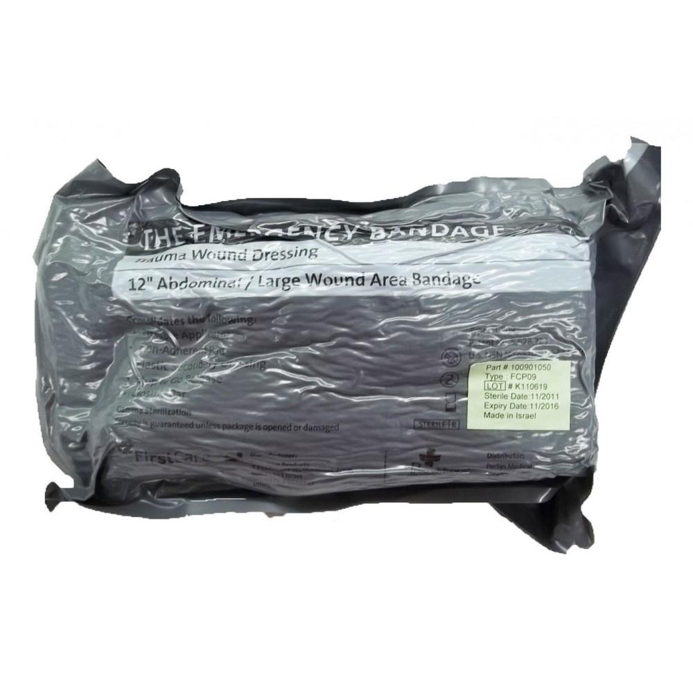 """Israeli Emergency Bandage - 8"""" with 12"""" Pad"""