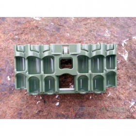 PowerPax A9 Ultimate Preparedness Battery Caddy - Military Green