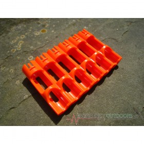 PowerPax SlimLine AAA Battery Caddy Carrier - Orange