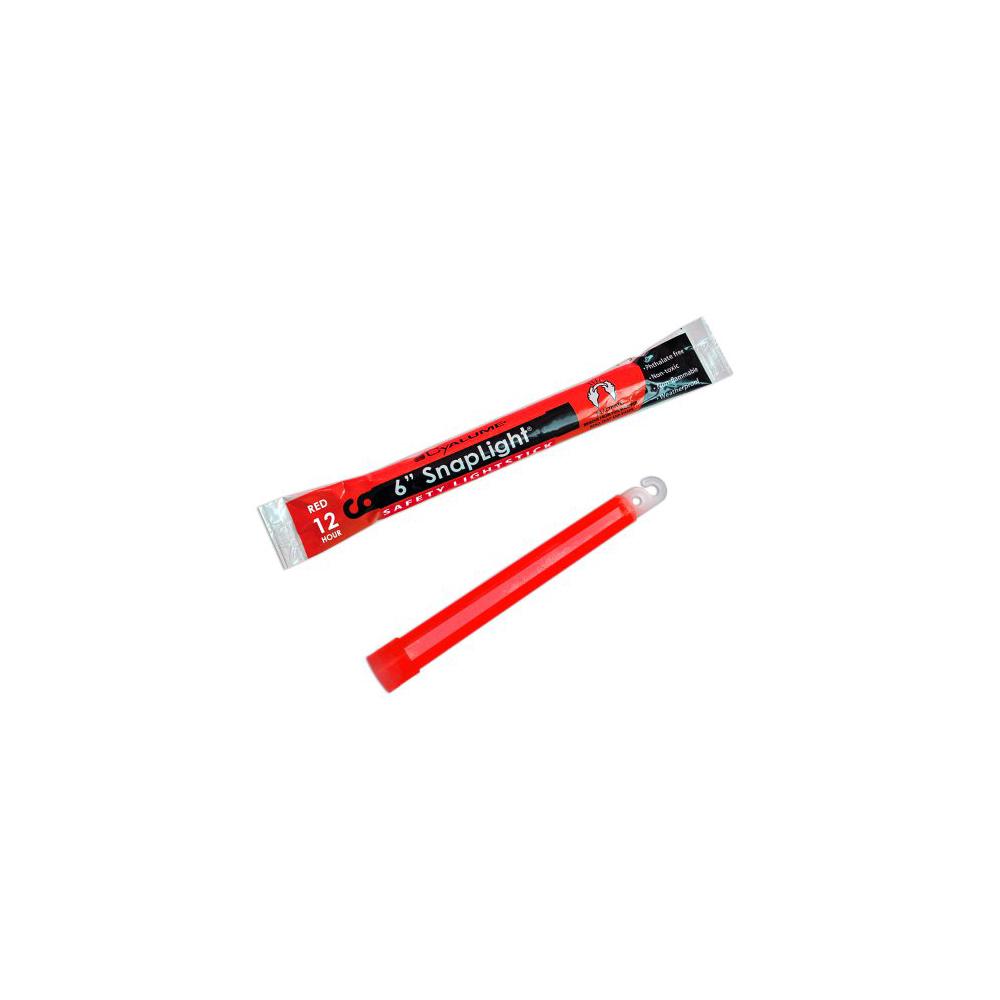 "Cyalume SnapLight Industrial Grade Light Sticks 6"" 12 Hour - Red"