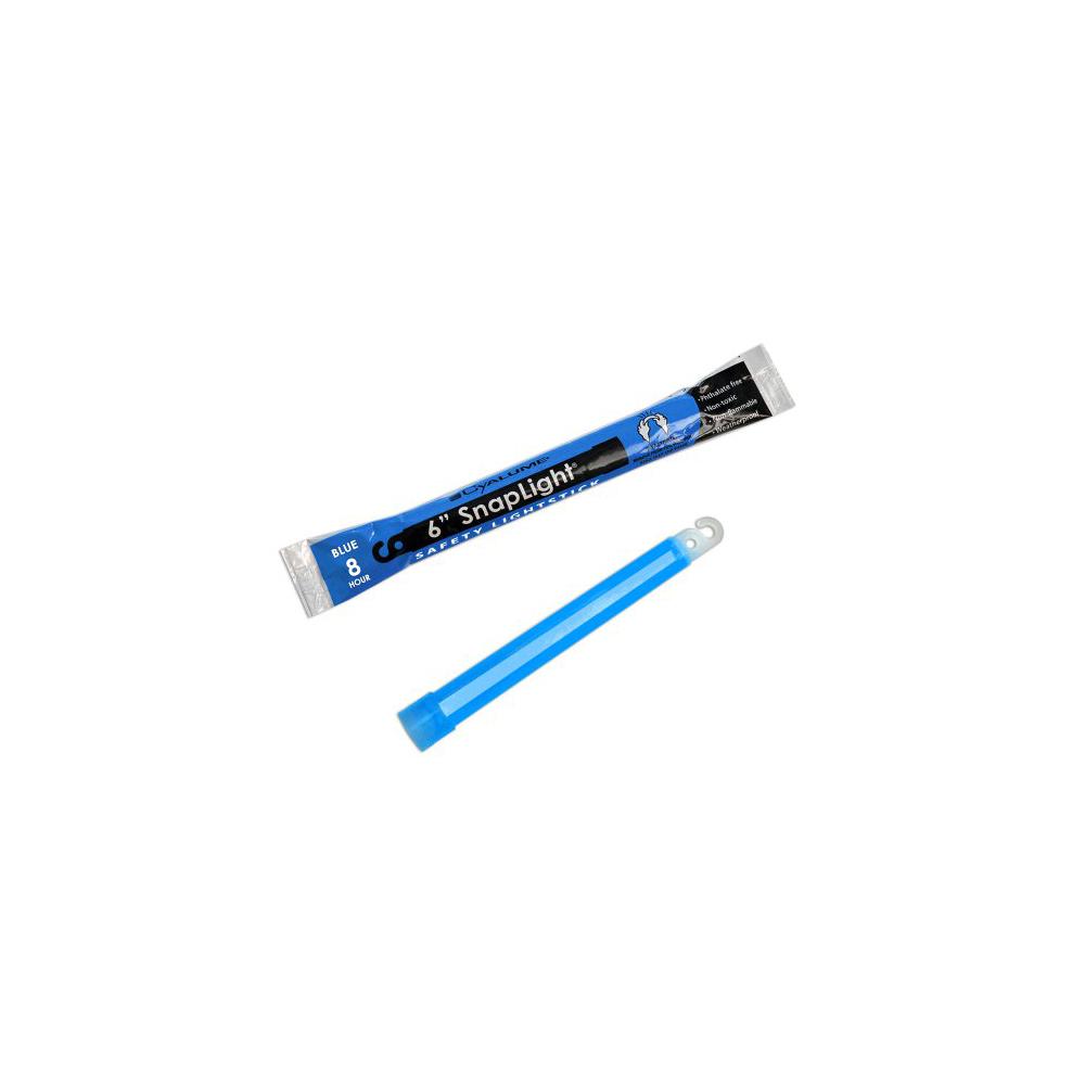 "Cyalume SnapLight Industrial Grade Light Sticks 6"" 8 Hour - Blue"