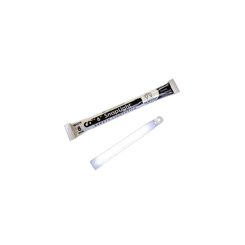 "Cyalume SnapLight Industrial Grade Light Sticks 6"" 8 Hour - White"