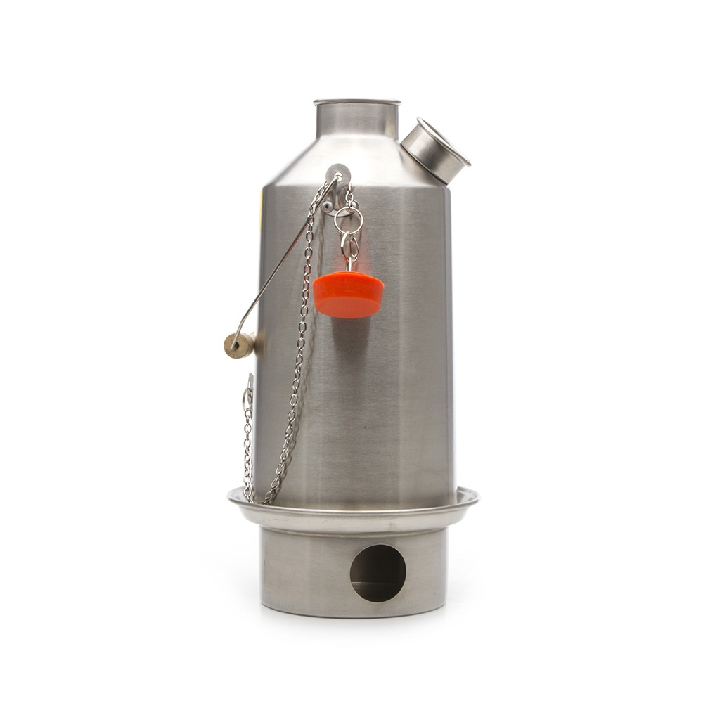 Kelly Kettle Stainless Steel Large Base Camp