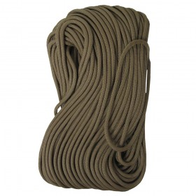 Tac Shield Tactical 550 Paracord 100ft - Coyote